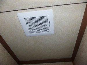 6 工事後  音がしていた換気扇も新しく取替えました