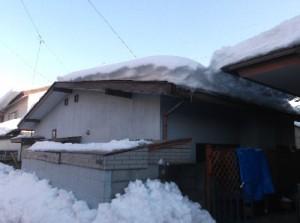 1  大雪の時はみんな大変でしたね