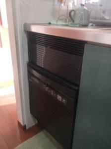 1 故障した食器洗い機