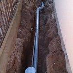 3  工事中 新しい配管