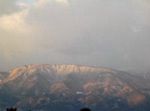 2 周りの山々もよく見えました。