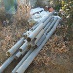 1 工事中 撤去した古い配管