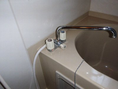 4 浴室のシャワー水栓は修理をご希望でした。