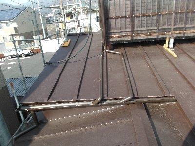 4 工事完了 屋根の工事が終わりました。