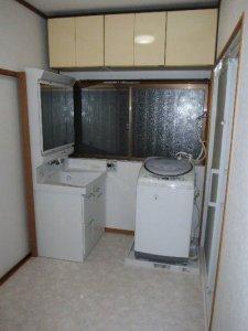 8  工事後 洗面台も新しくなりました