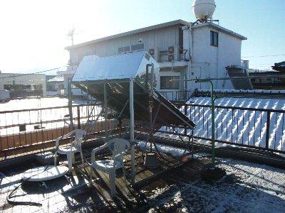 2 工事前 ソーラー温水器