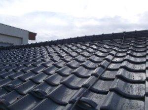 撤去完了屋根がサッパリしました。