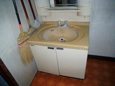 2 工事前 洗面台