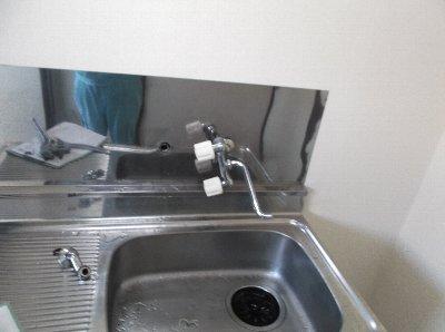 1 現場確認をした時わずかしか配管からお湯が出ませんでした