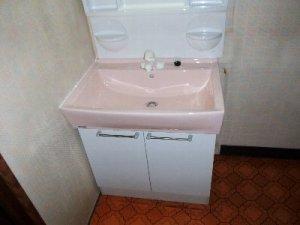 4 工事後 きれいになった洗面台