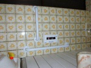 10 工事後 浴槽 手すり